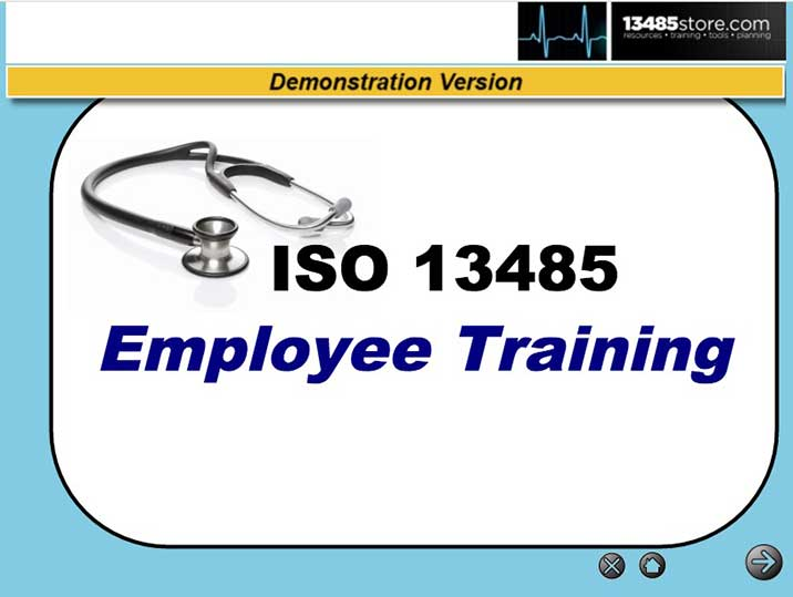 ISO 13485 Online Training Demo